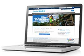 laptop with capbluecross.com